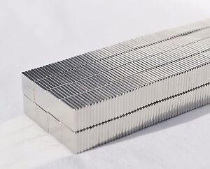 25 50 100 250 Square Magnets 1 2 X 1 2 X 1 16 Strongest N52 Neodymium a4