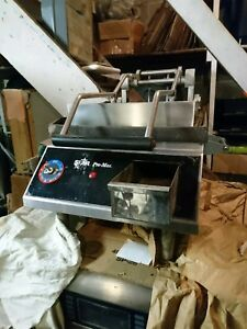 Star Gr14ib Bakery Restaurant Equipment Pro max Two Sided 14 Electric Grill