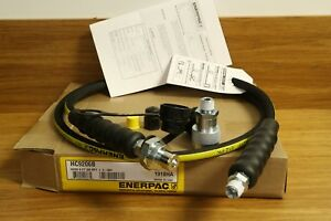 New Enerpac 6 Heavy duty High Pressure Hydraulic Hose With C 604 Coupler Set