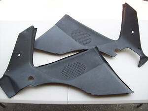 Porsche 944 944 Turbo S2 Black Rear Speaker Quarter Panels
