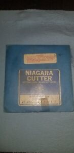 Niagara 4 x1 8x1 Metal Slitting Saw Straight Tooth