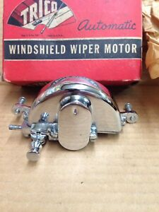 1933 1934 Ford Nos Trico Roadster Phaeton Chrome Wiper Motor In Box