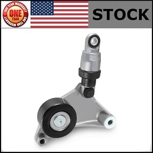Serpentine Belt Tensioner W pulley For Toyota Camry 2002 2006 L4 2 4l New