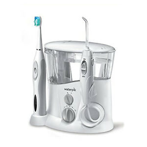 Waterpik Ortho Care White Wp 940 Water Flosser And Sonic Tooth Brush