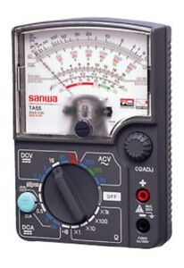 Sanwa Electric Instrument Analog Multitester For Automotive Ta 55 With Tracking