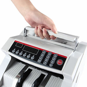 Kenwell Money Cash Counting Machinebill Counter Bank Uv mg Counterfeit Detector
