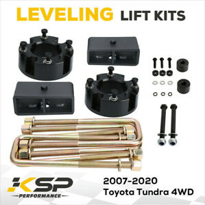 3 Front 2 Rear Lift Kit For 2007 2020 Toyota Tundra 4x4 2wd Diff Drop Trd Sr5