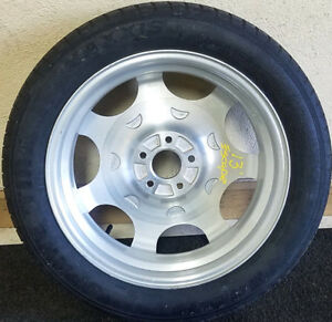 Used 2013 Ford Escape Compact Aluminum Spare Wheel Donut Tire Oem