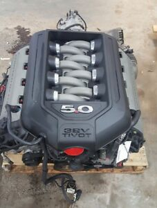 11 12 13 14 Ford Mustang Engine 5 0l 6 Speed Coyote Change Over Swap