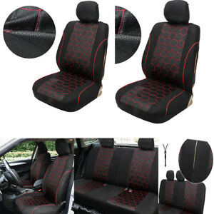 Universal Car Seat Covers Soccer Ball Style Interior Accessories Cushions Set