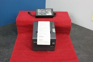 Epson Tm t88v M244a Ethernet Thermal Receipt Printer With Ps 180 Power Supply