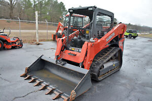 Kubota Svl75 Skid Steer Track Loader 705 Hrs Excellent Condition