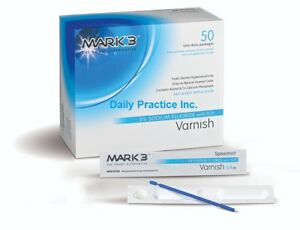 Mark3 Dental Varnish 5 Sodium Fluoride With Tcp Unit Dose Box 50