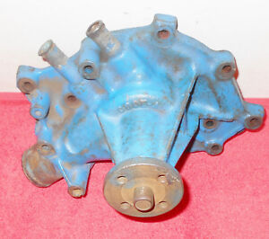 1966 1967 Ford Mustang Gt Gta Shelby Gt350 Cougar Xr7 Orig 289 Water Pump C6oe A