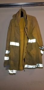 Fire Fighter Turnout Gear Bunker Pants Snap Outer Innerliner no Suspenders
