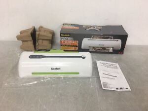 Scotch Pro Thermal Laminator 2 Roller System Tl906 Up To 9 Inch a 10