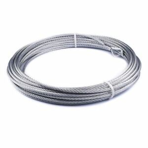 Warn 86515 Winch Wire Rope For Vr10000 Vr12000 3 8 X 94