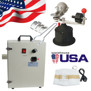 1000w Dental Digital Dust Collector Vacuum Cleaner centrifugal Casting Machine