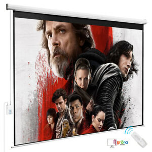 Kenwell 100 projection 4 3 Hd Screen Electric Remote Control Movie