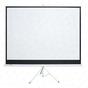 Kenwell Projector Projection Screen Movie Tripod Portable Pull up Matte