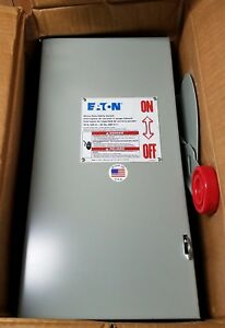 New Eaton Cutler Hammer Dh261ugk Heavy Duty Safety Switch 2 Pole 30a 600v
