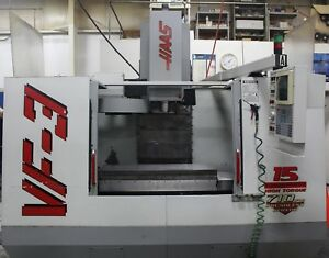 Haas Vf 3 Cnc Vertical Machining Center 2 speed Gearbox New Spindle