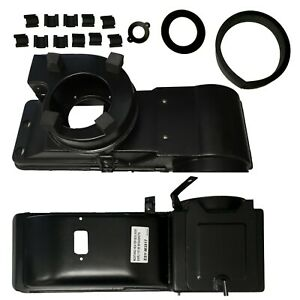 1967 1968 Mustang New Heater Box W Gasket Kit Clips Dii M3517
