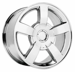 4 New 22x10 30 Chevy Ss Silverado Chrome 6x5 5 6x139 7 Replica Wheels Rims