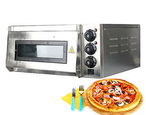 New Commercial 2kw Professional Electric Single Layer Electric Pizza Cake Oven