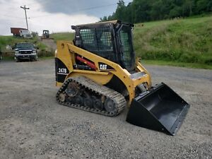 2005 Caterpillar 247b Compact Rubber Track Multi Terrain Skid Steer Loader Cat