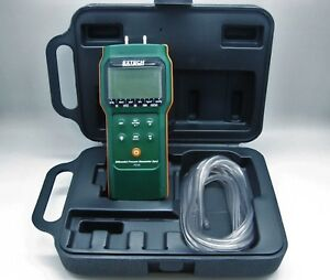 Extech Ps106 Differential Pressure 6psi Manometer Travel Case