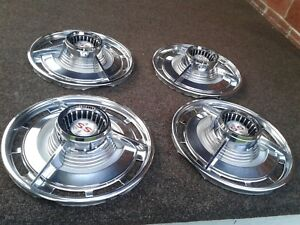 1963 63 Chevrolet Chevy Impala Ss 14 Spinner Hubcaps New Take Offs 55 Years Ago