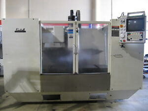 1989 Fadal Vmc 4020 Cnc Mill 40 x20 Made In Usa Vertical Milling Machine Center