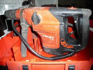 Nice hilti Te 46 Rotary Hammer Drill Sds Top Te t 13 9 Amp In Great Condition