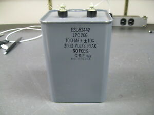 High Voltage Capacitor 10 Uf 3000 V
