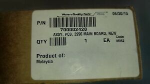 Waters Assy Pcb 2996 Main Board New 700002428