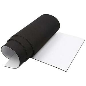 Closed Cell Foam Rubber Padding Roll Self Adhesive Weather Stripping Non slip X