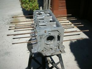 Corvair Engine Block T 0133rm 65 68 Manual 140hp 8 Late Model Case Bolts Degr