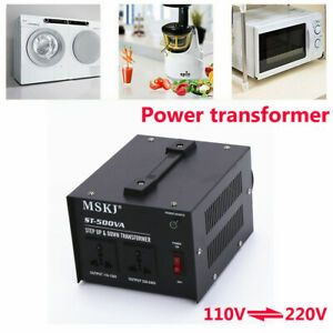 200 500 1000 2000 3000w Voltage Converter Step Up down Transformer 110v To 220v
