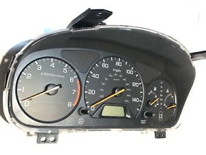 2000 2001 2002 Honda Accord Sedan Ex Lx Speedometer Cluster 139 000 Miles
