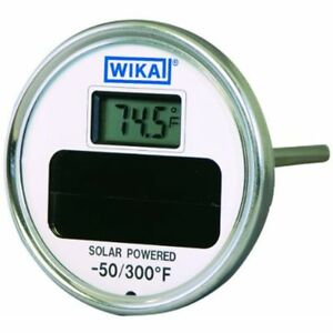 Digital Thermometers Wika Ti 80 Stainless Steel 304 Solar Thermometer 50 300