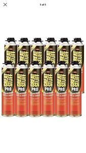 Dow Great Stuff Pro Gaps And Cracks 24 Oz Gun Foam case Of 12 341557
