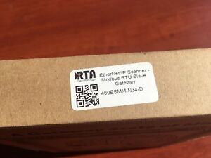 Rta Real Time Automation 460esmm n34 Ethernet Ip Scanner Modbus Rtu Slave Gate