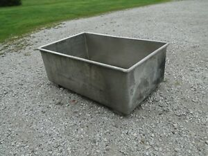 Large Open Top Stainless S s Tank Vat Tub 300gallon