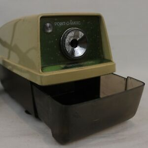Panasonic Point o matic Electric Pencil Sharpener Tested Model Kp 33a