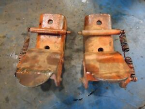 1959 Allis Chalmers D 10 Farm Tractor Snap Coupler Latches