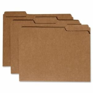 Skilcraft Setter Size Reinforced File Folder 1 3 Cut 100