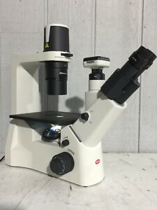 Motic Ae2000tri Ae 2000 Tri Trinocular Inverted Microscope W Camera