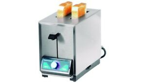 New Toastmaster Commercial Toaster Model Tp224 2 Slot Toaster 208 240 60 1