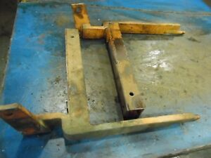 1959 Allis Chalmers D 10 Farm Tractor Front Cultivator Brackets